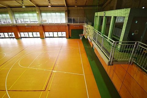 10.千葉県体育館|館内