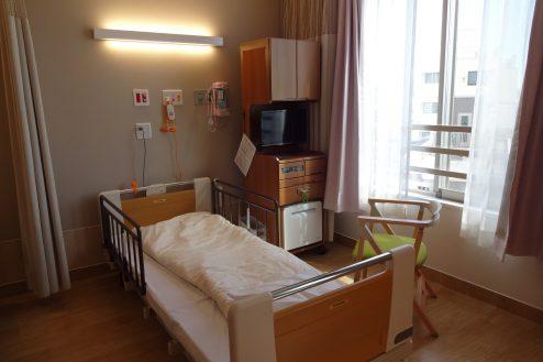 6.鶴見病院|4床病室