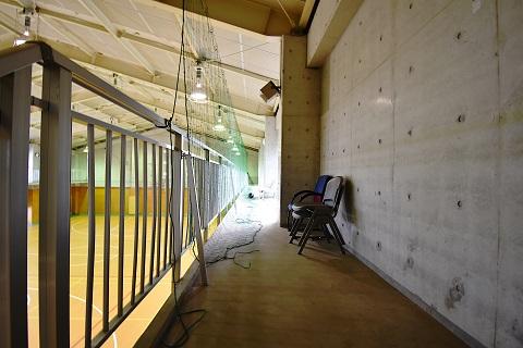 16.千葉県体育館|館内・2階通路
