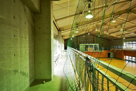 14.千葉県体育館|館内・2階通路