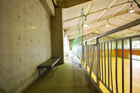 15.千葉県体育館|館内・2階通路