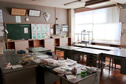 12.学校跡地スタジオ|職員室
