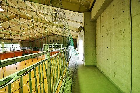 19.千葉県体育館|館内・2階通路