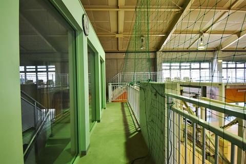 20.千葉県体育館|館内・2階通路