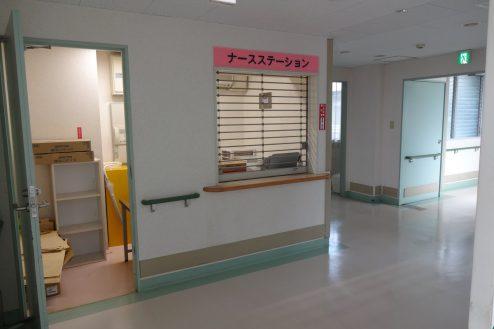 15.白中病院|病室付近