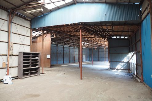 2.千葉県野田の廃工場 倉庫