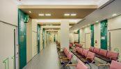墨田区病院|病室・診察室・ロビー待合室・廊下・MRI・CT・屋上|東京
