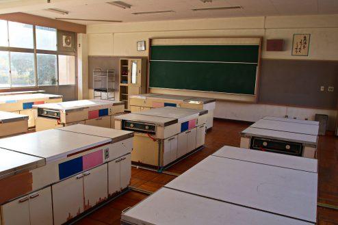 16.学校跡地スタジオ|家庭科室