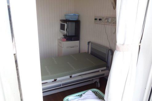 4.白中病院|窓外からの病室