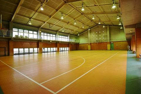 6.千葉県体育館|館内