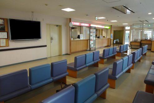 3.白中病院|総合受付・待合室