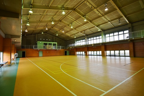 5.千葉県体育館|館内