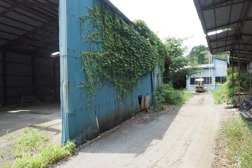 2.千葉県野田の廃工場|正面
