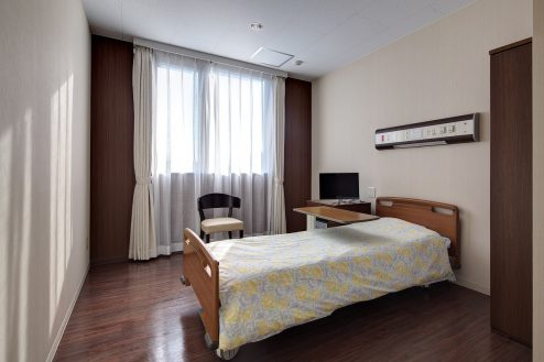 17.草加病院|病室(4階・個室Dタイプ)