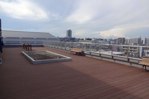 3.鶴見病院|屋上テラス