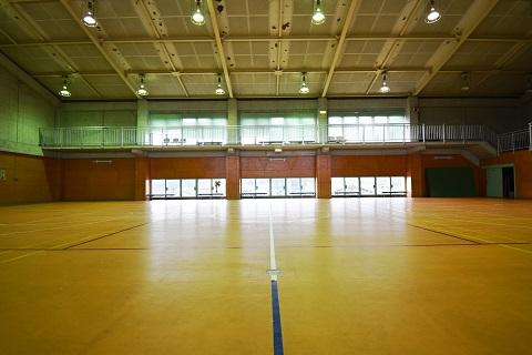 11.千葉県体育館|館内