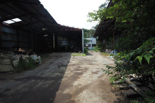 4.千葉県野田の廃工場|正面引き