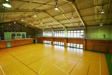 千葉県体育館|平日土日祝・セット建込み・倉庫・2階通路