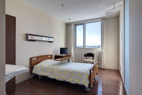 16.草加病院|病室(4階・個室Cタイプ)
