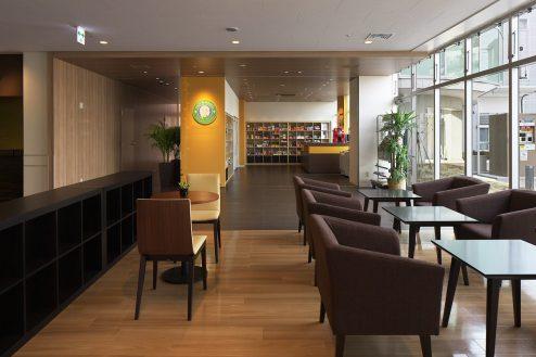 28.草加病院|カフェ