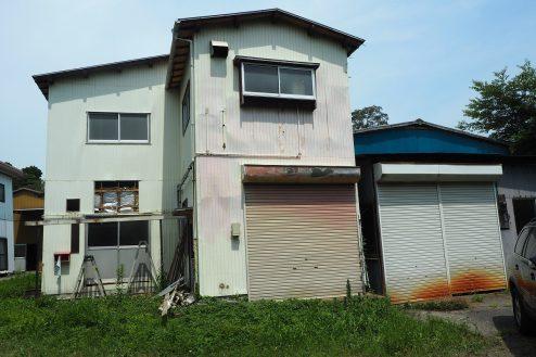 1.千葉県野田の廃工場|事務所住居部分
