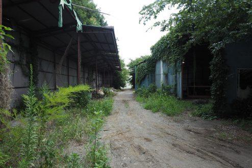 7.千葉県野田の廃工場|倉庫前