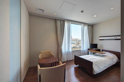 15.草加病院|病室(4階・個室Bタイプ)