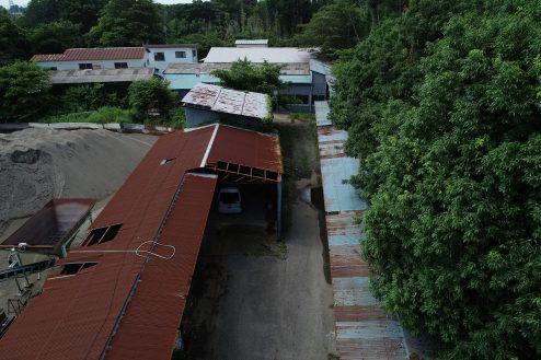 11.千葉県野田の廃工場|俯瞰