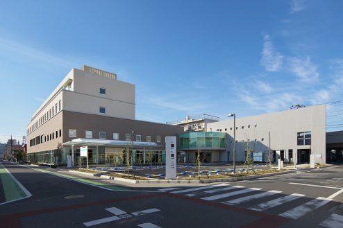 30.草加病院|外観