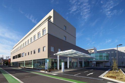 31.草加病院|外観
