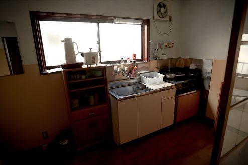 8.昭和レトロアパートスタジオ|キッチン