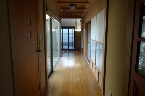 18.川崎市 日本家屋|廊下