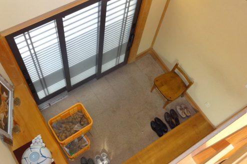 17.川崎市 日本家屋|玄関・俯瞰