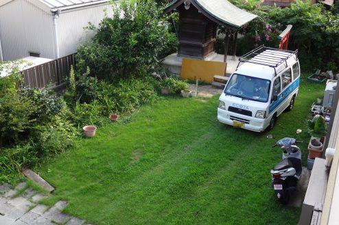 24.川崎市 日本家屋|2Fベランダから庭