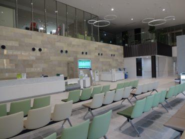 久喜病院|ロビー・待合室・診察室・屋上・リハビリ室・車寄せ・人工透析