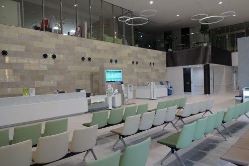 久喜病院|ロビー・待合室・診察室・屋上・霊安室・車寄せ・人工透析