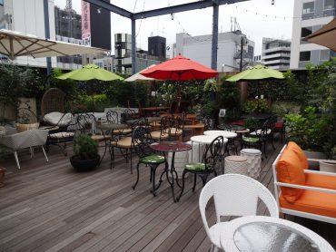 屋上テラス・アルビダホテル青山|カプセル・客室・カフェレストラン・貸切り|東京