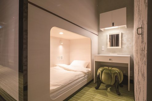 12.アルビダホテル青山|4F客室(キャビンルーム)