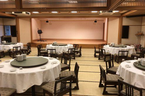 江戸一西新井館 宴会場・舞台・ステージ・個室・円卓・エントランス・バックヤード・カラオケ・東京