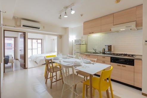横浜第1スタジオ|ハウススタジオ・マンション・リビングダイニング・寝室・洋室・家具