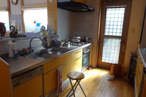 6.川崎市 日本家屋|リビング・キッチン
