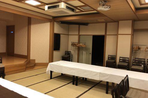 12.江戸一西新井館|3F宴会場・舞台右袖