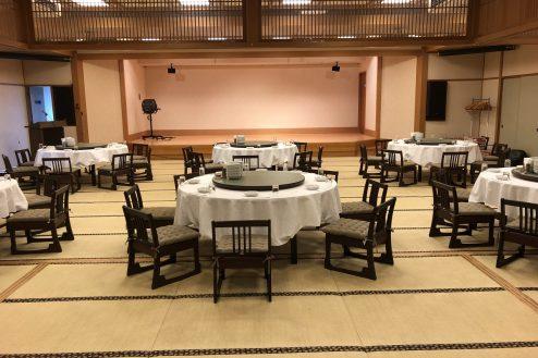 4.江戸一西新井館|3F宴会場・舞台正面