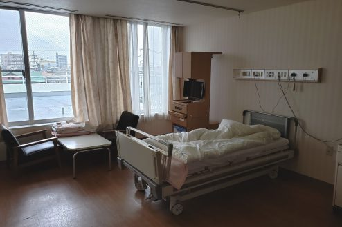 9.白中病院|病室(ベッド変更後)