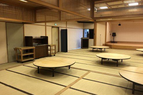 8.江戸一西新井館|3F宴会場・バックヤード側壁面