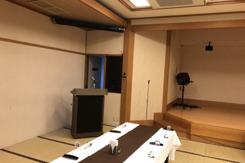 13.江戸一西新井館|3F宴会場・舞台左袖