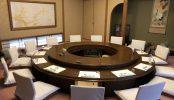 和食レストラン西新井(2028)|宴会場・舞台・ステージ・個室・円卓・エントランス・バックヤード・カラオケ・東京