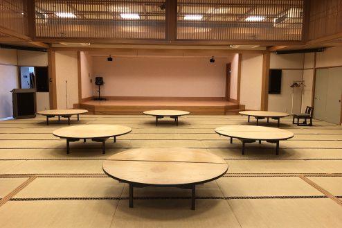 6.江戸一西新井館|3F宴会場・舞台正面