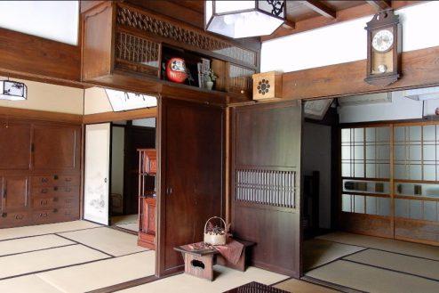 4.里山スタジオいわふね 縁側から和室BA・奥和室
