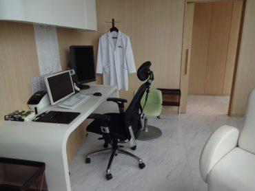 クオーツタワークリニック8階|診察室・受付・待合・廊下・内科|東京